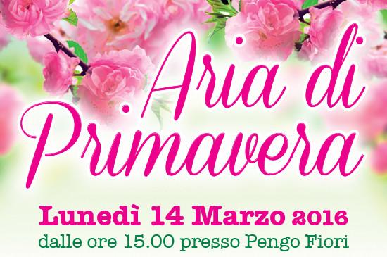 14 Marzo 2016 – Aria di Primavera