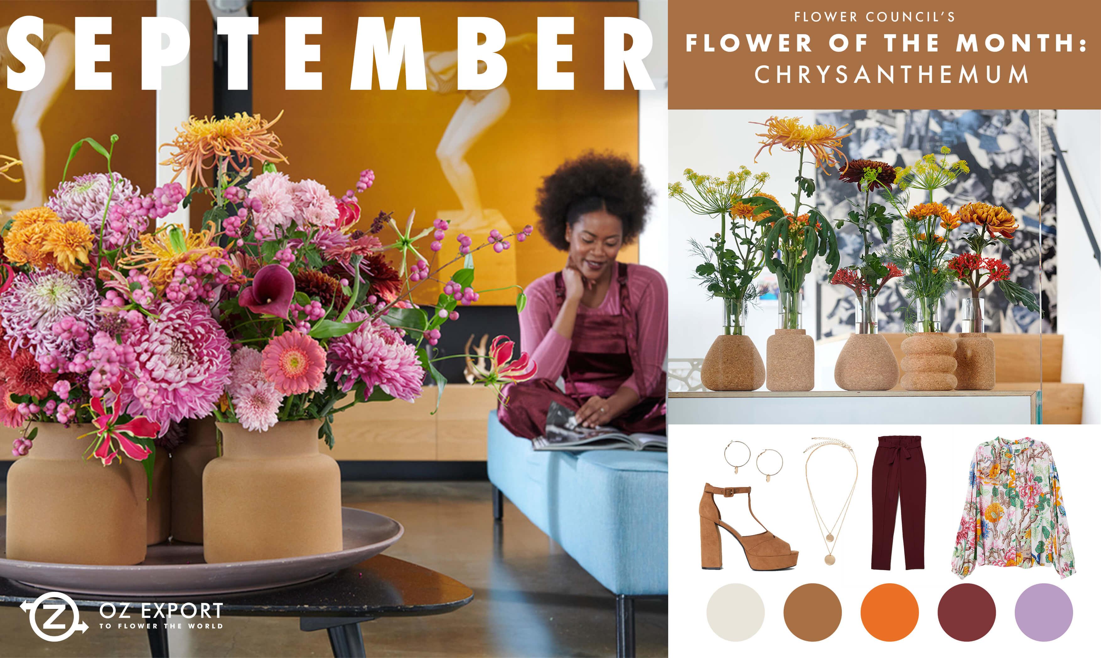 Fiori Di Stagione Settembre pengo fioriottieni l'ispirazione della trend mood board